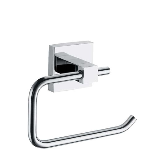 Ecospa 2 Piece Square Toilet Roll Holder And Towel Ring In